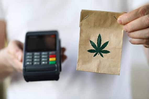 Accept cannabis payments in store and online with ease.